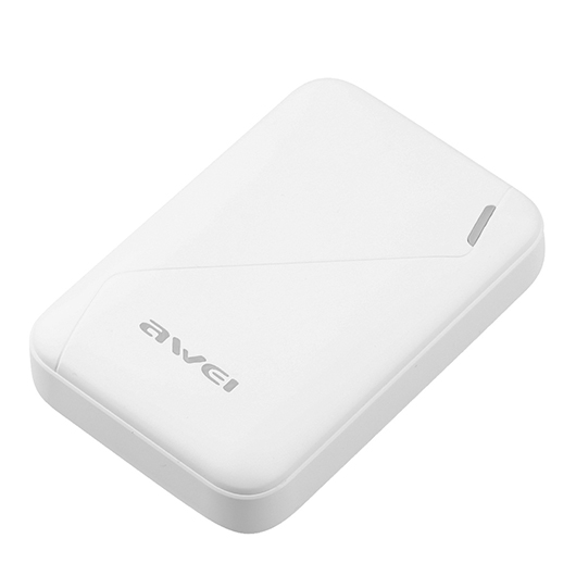 Power Bank AWEI P61K 7800mAh (White) side