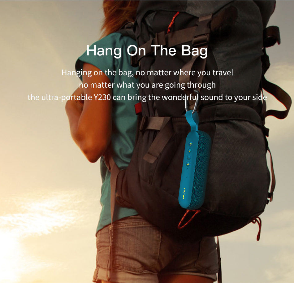 AWEI Y230 portable speaker Hang on the bag