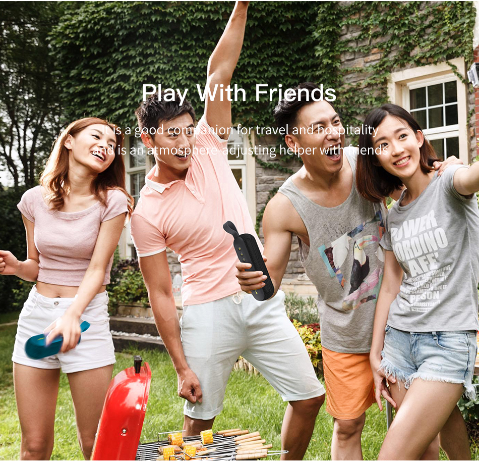 AWEI Y230 portable speaker Play with friends
