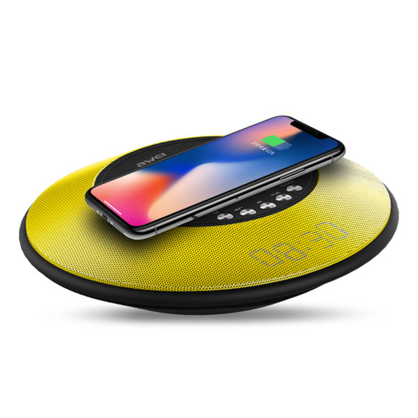 portable bluetooth speaker AWEI Y290 (yellow) pic-3