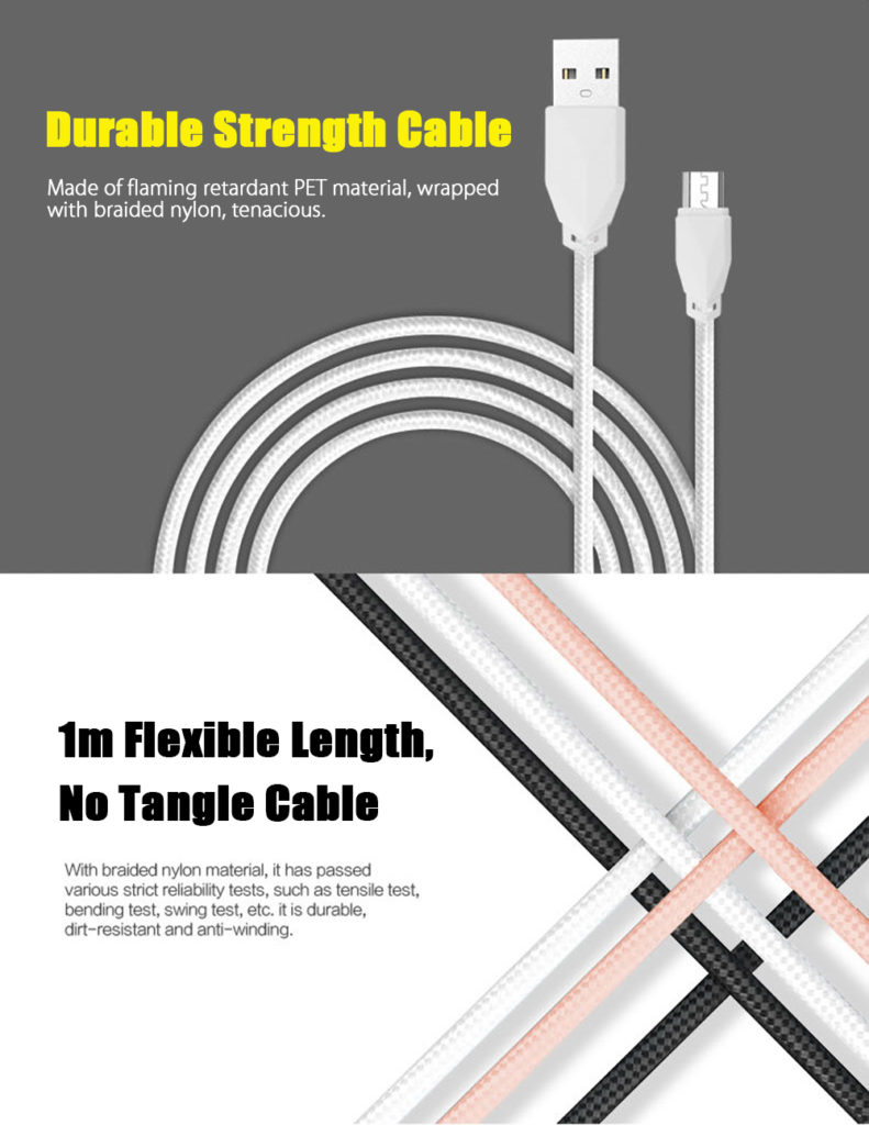 AWEI C-900 Durable strength cable