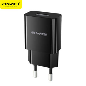 Travel Charger AWEI C-810 (Black)