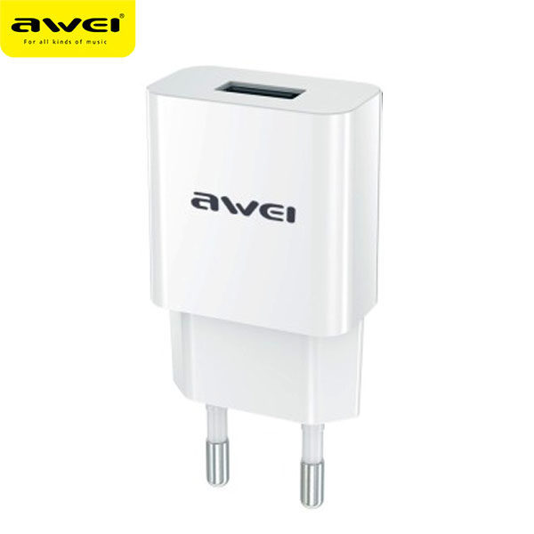Travel Charger AWEI C-810 (White)