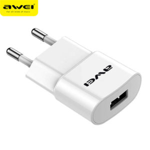 Travel Charger AWEI C-832 (White)