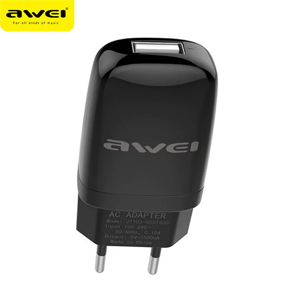 Travel Charger C-821 (Black) pic-2