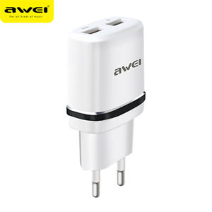 Travel Charger C-930 (White-Black)