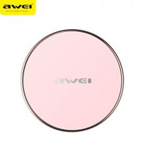 wireless charger awei w3 (pink) top
